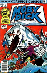 Cover Thumbnail for Marvel Classics Comics (Marvel, 1976 series) #8 - Moby Dick