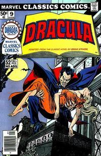 Cover Thumbnail for Marvel Classics Comics (Marvel, 1976 series) #9 - Dracula