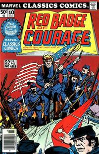 Cover Thumbnail for Marvel Classics Comics (Marvel, 1976 series) #10 - The Red Badge of Courage