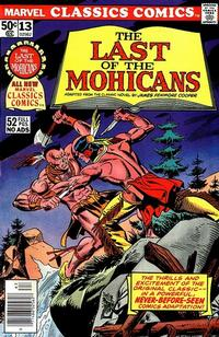 Cover Thumbnail for Marvel Classics Comics (Marvel, 1976 series) #13 - The Last of the Mohicans