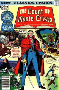 Cover Thumbnail for Marvel Classics Comics (Marvel, 1976 series) #17 - The Count of Monte Cristo
