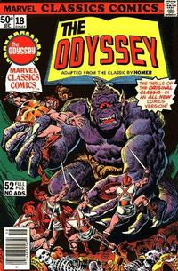 Cover Thumbnail for Marvel Classics Comics (Marvel, 1976 series) #18 - The Odyssey