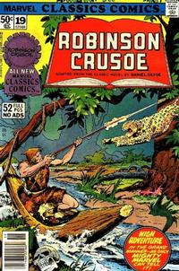 Cover Thumbnail for Marvel Classics Comics (Marvel, 1976 series) #19 - Robinson Crusoe