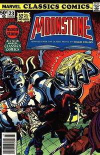 Cover Thumbnail for Marvel Classics Comics (Marvel, 1976 series) #23 - The Moonstone