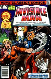 Cover Thumbnail for Marvel Classics Comics (Marvel, 1976 series) #25 - The Invisible Man