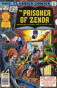 Cover Thumbnail for Marvel Classics Comics (Marvel, 1976 series) #29 - The Prisoner of Zenda [Standard Edition]