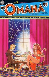 Cover Thumbnail for Omaha the Cat Dancer (Kitchen Sink Press, 1986 series) #1