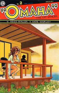 Cover Thumbnail for Omaha the Cat Dancer (Kitchen Sink Press, 1986 series) #2