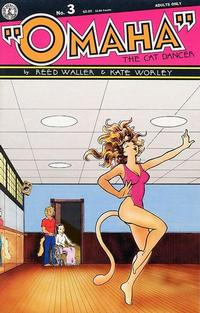 Cover Thumbnail for Omaha the Cat Dancer (Kitchen Sink Press, 1986 series) #3