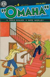 Cover Thumbnail for Omaha the Cat Dancer (Kitchen Sink Press, 1986 series) #4
