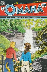 Cover Thumbnail for Omaha the Cat Dancer (Kitchen Sink Press, 1986 series) #5