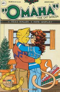 Cover Thumbnail for Omaha the Cat Dancer (Fantagraphics, 1994 series) #1