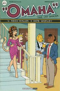 Cover Thumbnail for Omaha the Cat Dancer (Fantagraphics, 1994 series) #3