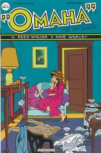 Cover Thumbnail for Omaha the Cat Dancer (Fantagraphics, 1994 series) #4
