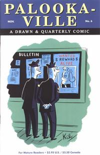 Cover Thumbnail for Palooka-Ville (Drawn & Quarterly, 1991 series) #6