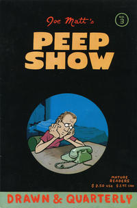 Cover Thumbnail for Peepshow (Drawn & Quarterly, 1992 series) #3