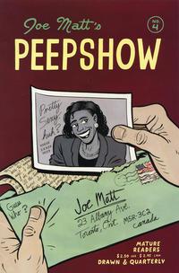 Cover Thumbnail for Peepshow (Drawn & Quarterly, 1992 series) #4