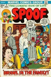 Cover Thumbnail for Spoof (Marvel, 1970 series) #2