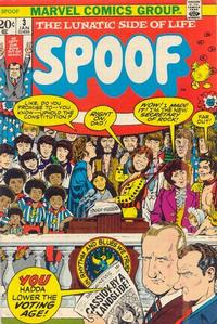 Cover Thumbnail for Spoof (Marvel, 1970 series) #3