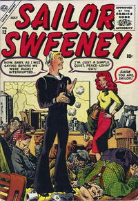 Cover Thumbnail for Sailor Sweeney (Marvel, 1956 series) #12