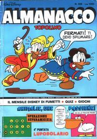 Cover Thumbnail for Almanacco Topolino (Arnoldo Mondadori Editore, 1957 series) #308