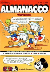 Cover Thumbnail for Almanacco Topolino (Arnoldo Mondadori Editore, 1957 series) #309