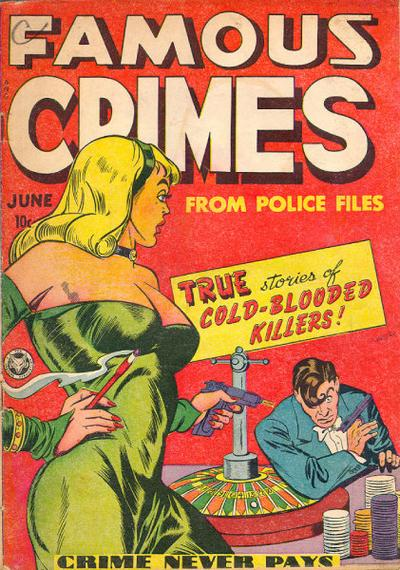 Cover for Famous Crimes (Fox, 1948 series) #1