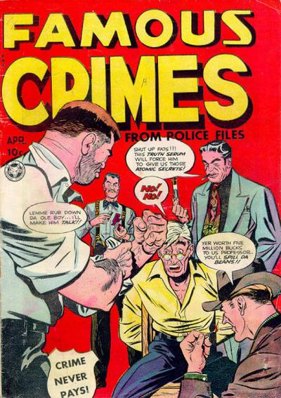 Cover for Famous Crimes (Fox, 1948 series) #8