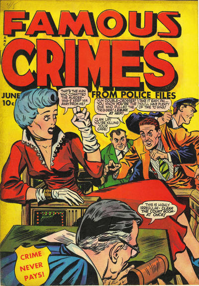 Cover for Famous Crimes (Fox, 1948 series) #10