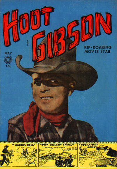 Cover for Hoot Gibson (Fox, 1950 series) #5 [1]