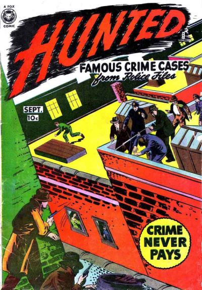 Cover for Hunted (Fox, 1950 series) #2