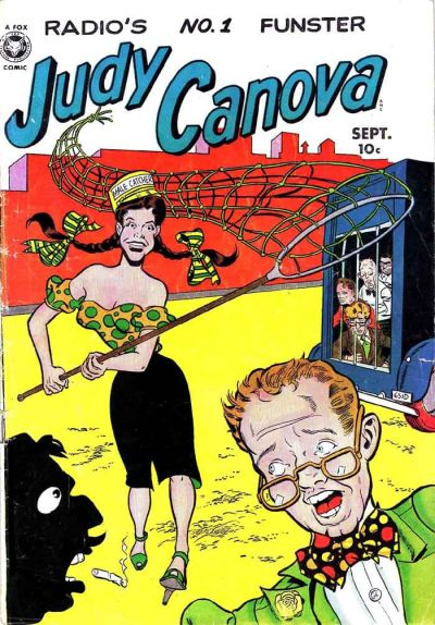 Cover for Judy Canova (Fox, 1950 series) #3