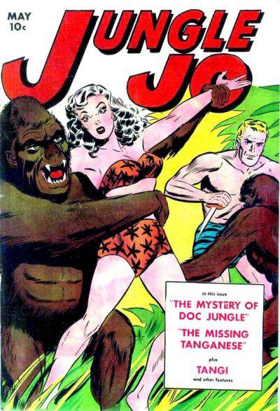 Cover for Jungle Jo (Fox, 1950 series) #1