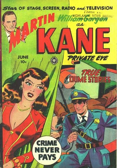Cover for Martin Kane, Private Eye (Fox, 1950 series) #4 [1]
