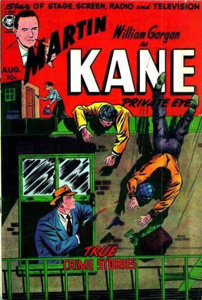 Cover for Martin Kane, Private Eye (Fox, 1950 series) #2