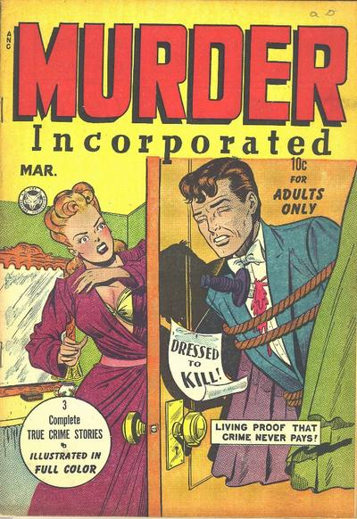 Cover for Murder Incorporated (Fox, 1948 series) #2