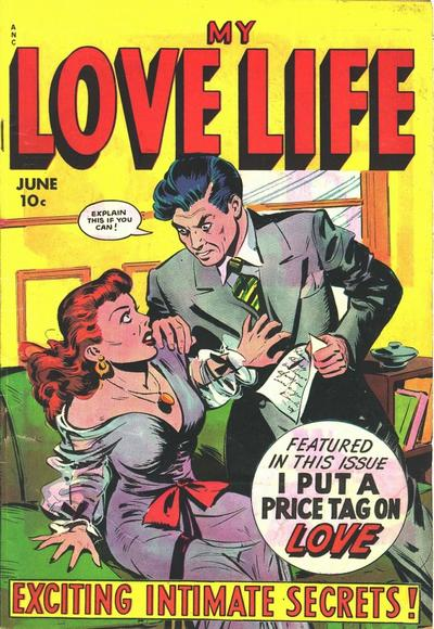 Cover for My Love Life (Fox, 1949 series) #6