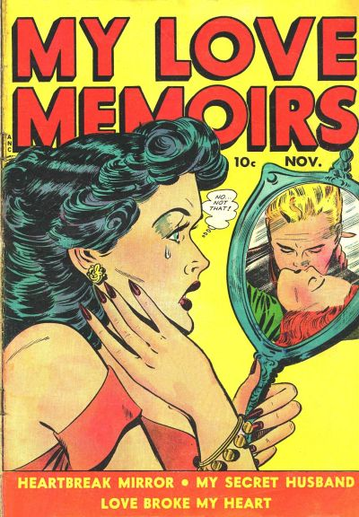 Cover for My Love Memoirs (Fox, 1949 series) #9
