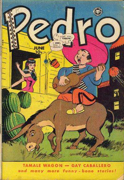 Cover for Pedro (Fox, 1950 series) #18 [1]