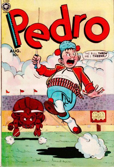 Cover for Pedro (Fox, 1950 series) #2