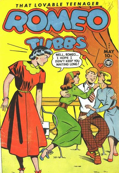 Cover for Romeo Tubbs (Fox, 1950 series) #26 [27]