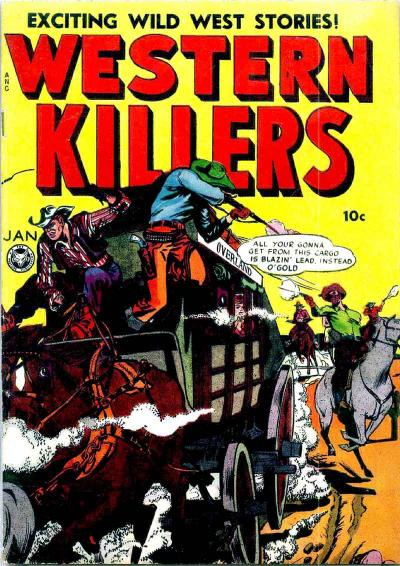 Cover for Western Killers (Fox, 1948 series) #62