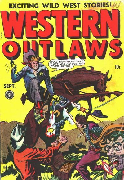 Cover for Western Outlaws (Fox, 1948 series) #17