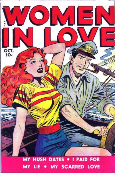Cover for Women in Love (Fox, 1949 series) #2