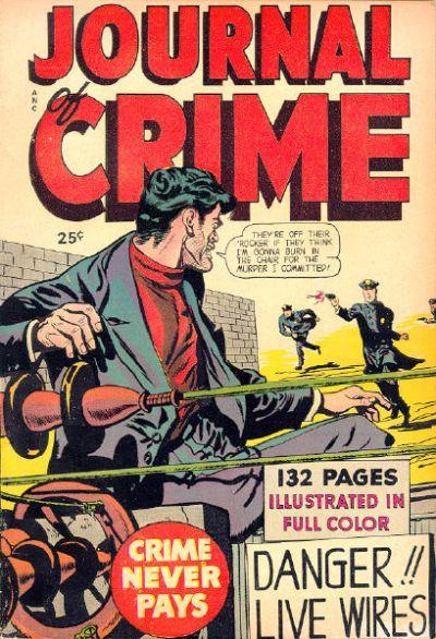 Cover for Journal of Crime (Fox, 1949 series) #[nn]