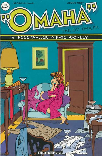 Cover for Omaha the Cat Dancer (Fantagraphics, 1994 series) #4