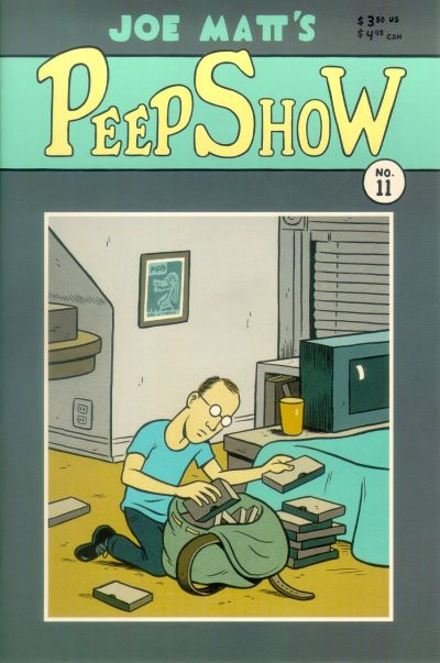 Cover for Peepshow (Drawn & Quarterly, 1992 series) #11