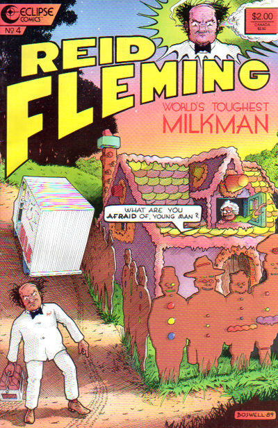 Cover for Reid Fleming, World's Toughest Milkman (Eclipse, 1986 series) #4
