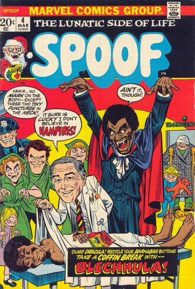 Cover for Spoof (Marvel, 1970 series) #4