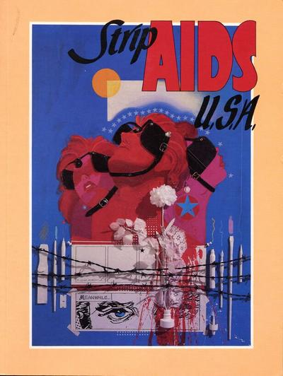 Cover for Strip AIDS U.S.A. (Last Gasp, 1988 series)